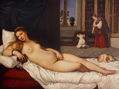 Venus of Urbino-Titian (Tiziano Vecelli)-Giclee Print