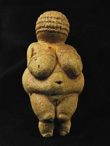 Venus of Willendorf, One of the Many Stone-Age Female Idols of the Great Goddess