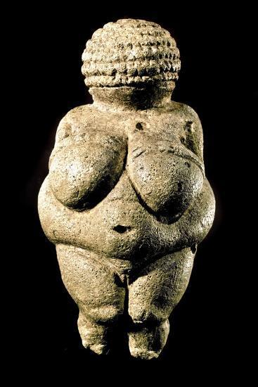 Venus of Willendorf--Photographic Print
