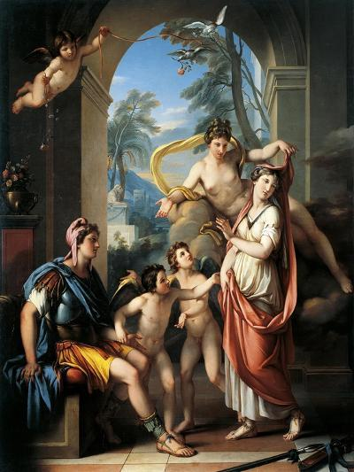 Venus Offering Helen to Paris-Gavin Hamilton-Giclee Print