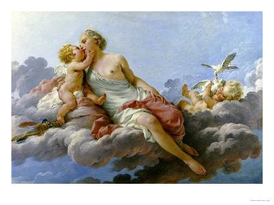 Venus Ou le Midi, 1768-Noel Halle-Giclee Print