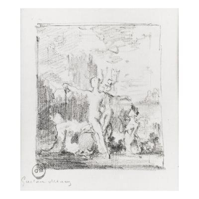 Vénus sortant de l'onde-Gustave Moreau-Giclee Print