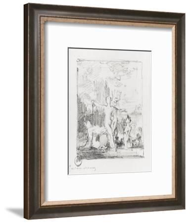 Vénus sortant de l'onde-Gustave Moreau-Framed Giclee Print