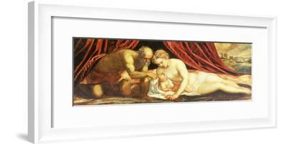 Venus, Vulcan and Cupid-Jacopo Robusti Tintoretto-Framed Giclee Print