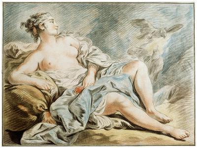 Venus with Doves, 18th Century-Louis Marin Bonnet-Giclee Print