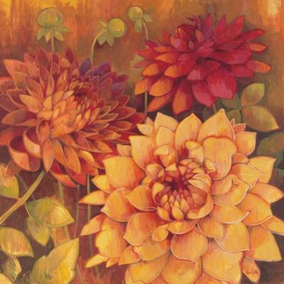 Autumn Dahlias 2 by Vera Hills