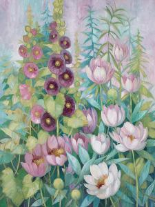 Garden in Spring 1 by Vera Hills