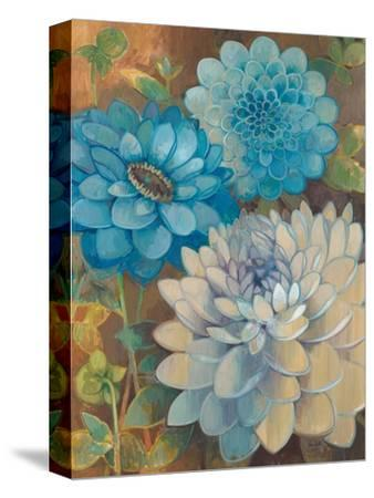 Pretty Blue Dahlias 1 by Vera Hills