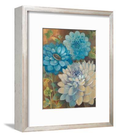 Pretty Blue Dahlias 1 by Vera Hills