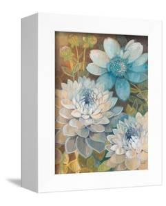 Pretty Blue Dahlias 2 by Vera Hills