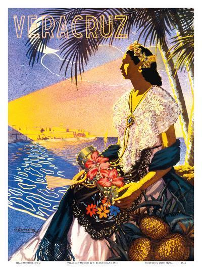 Veracruz, Mexico-Diaz-Art Print