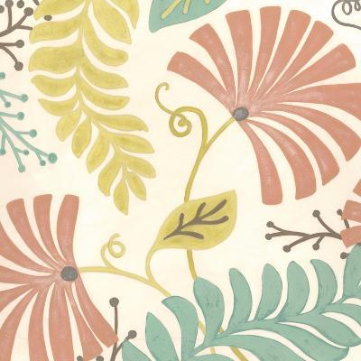 Veranda Floral III-Erica J^ Vess-Art Print