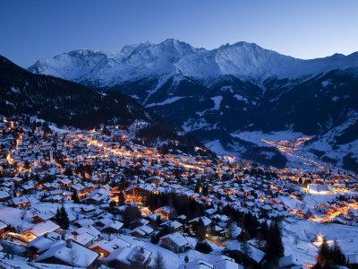 Verbier, Valais, Four Valleys Region, Switzerland-Gavin Hellier-Photographic Print
