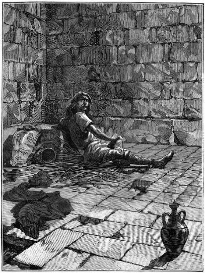 Vercingetorix Imprisoned in the Tullianum in Rome, C52-46 BC (1882-188)--Giclee Print