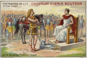 Vercingetorix Lays Down His Arms before Julius Caesar