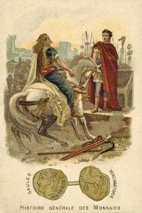 Vercingetorix Submitting to Julius Caesar, 52 BC