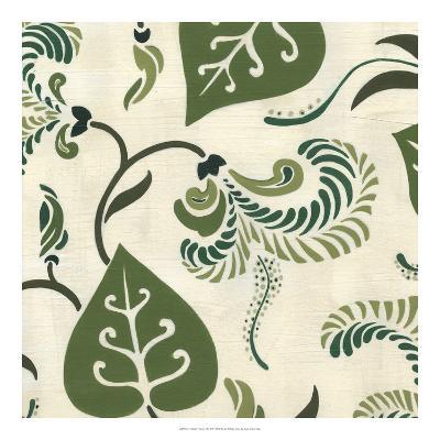 Verdant Fresco I-Erica J^ Vess-Giclee Print