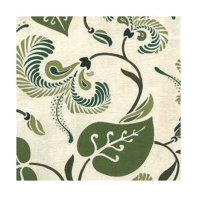 Verdant Fresco II-Erica J^ Vess-Art Print