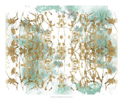 Verdant Mirror I-Jennifer Goldberger-Art Print