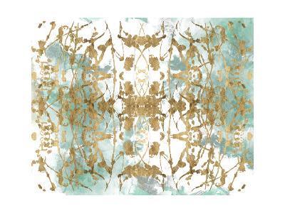 Verdant Mirror II-Jennifer Goldberger-Art Print