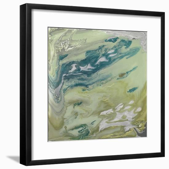 Verdant Swirl II-Studio W-Framed Art Print