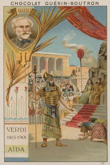 Verdi, Aida--Giclee Print