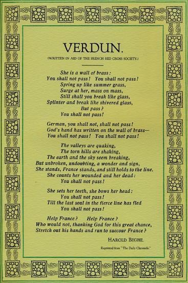 'Verdun', 1916-Unknown-Giclee Print