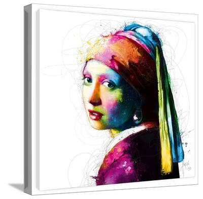 Vermeer Pop-Patrice Murciano-Gallery Wrapped Canvas