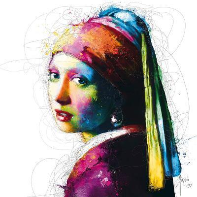 Vermeer Pop-Patrice Murciano-Art Print