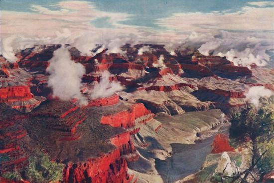 'Vermilion Cliffs and Vast Depths of an Unparalleled Wonderland', c1935-Unknown-Giclee Print