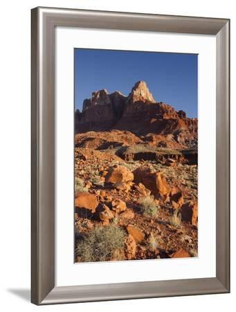 Vermilion Cliffs National Monument, Utah, Usa-Rainer Mirau-Framed Photographic Print
