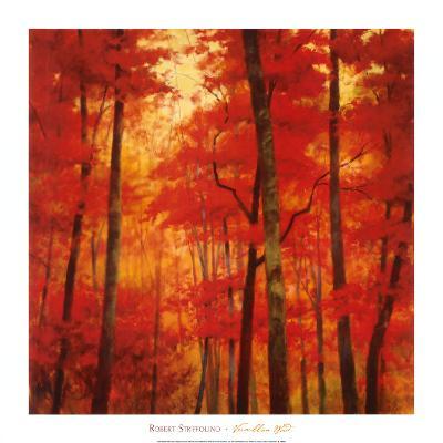 Vermilion Wood-Robert Striffolino-Art Print