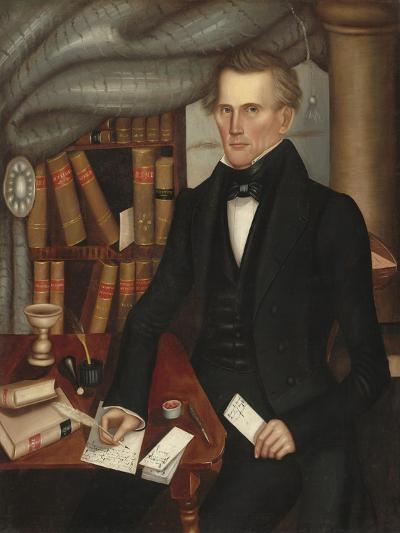 Vermont Lawyer, 1841-Horace Bundy-Giclee Print