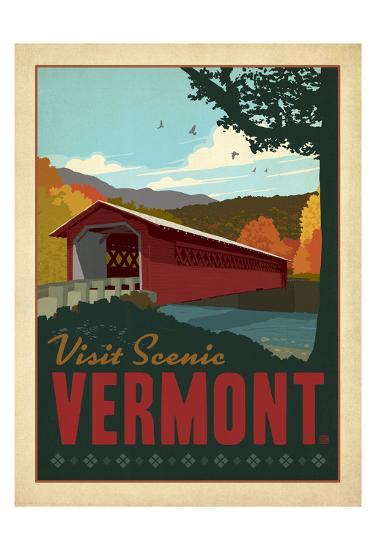 Vermont-Anderson Design Group-Art Print