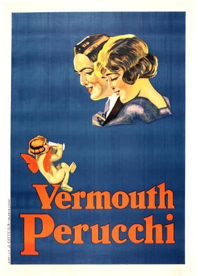 Vermouth Perucchi (c.1925)--Collectable Print
