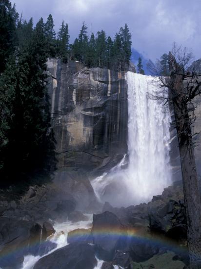 Vernal Fall, Yosemite National Park, California, USA-Julie Bendlin-Photographic Print