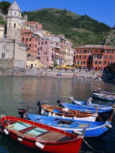 Vernazza, Cinque Terre, Unesco World Heritage Site, Italian Riviera, Liguria, Italy-Bruno Morandi-Photographic Print