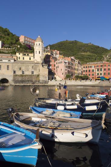 Vernazza, Cinque Terre, UNESCO World Heritage Site, Liguria, Italy, Europe-Gavin Hellier-Photographic Print