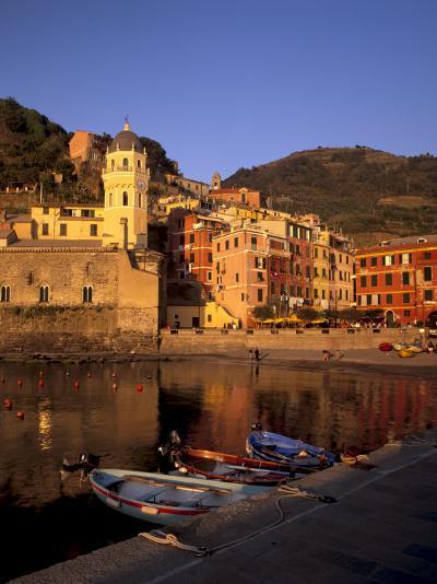 Vernazza Harbour, Vernazza, Cinque Terre, UNESCO World Heritage Site, Liguria, Italy, Europe-Patrick Dieudonne-Photographic Print
