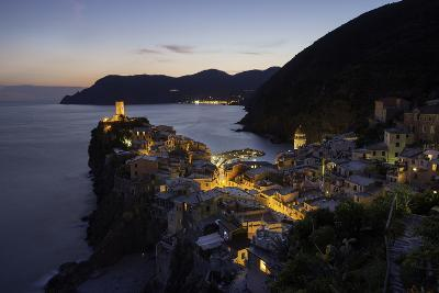 Vernazza in the Evening, Cinque Terre, UNESCO World Heritage Site, Liguria, Italy, Europe-Gavin Hellier-Photographic Print