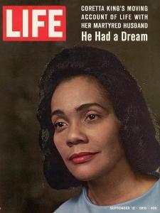 Coretta Scott King, Widow of Civil Rights Leader, September 12, 1969 by Vernon Merritt III