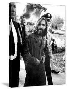 Leader of Hippie Family Charles Manson Indicted for Murders of Actress Sharon Tate and Friends by Vernon Merritt III