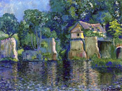 Vernon, Near Giverny, 1909-Theodore Earl Butler-Giclee Print