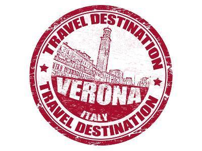 Verona Stamp-radubalint-Art Print