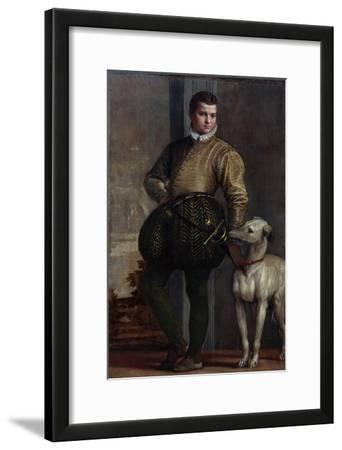 Boy with a Greyhound, c.1570s