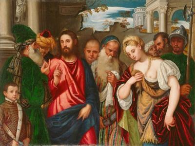 Christ and the Woman Taken in Adultery, C.1540