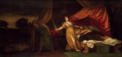Judith About to Kill Holofernes