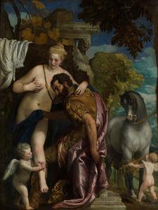 Mars and Venus United by Love, c.1570 by Veronese