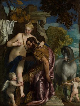 Mars and Venus United by Love, c.1570