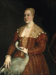 Portrait of a woman with Heron by Veronese